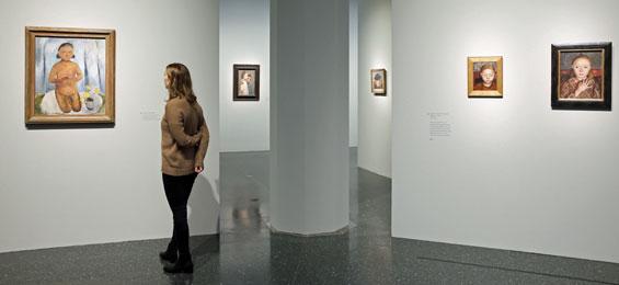 Paula Modersohn-Becker. Der Weg in die Moderne Foto U Perrey