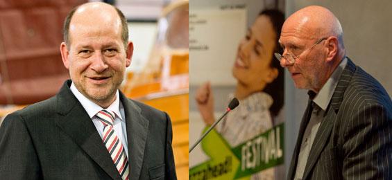 Hans Peter Schneider. Foto: Jan Rathke Messe Bremen un dUli Beckerhoff. Foto Peter Adamik Messe Bremen