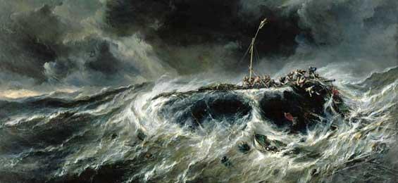 """""""Entfesselte Natur – das Bilder der Katastrophe seit 1600"""". Ein Plädoyer für die Menschlichkeit"""