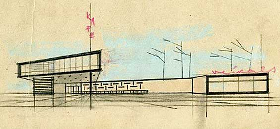 Modernisti Architekturmuseum Riga