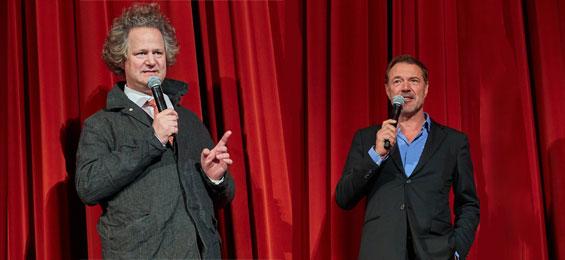 Florian Henckel von Donnersmarck und Sebastian Koch stellen den Film Werk ohne Autor in Lüneburg vor