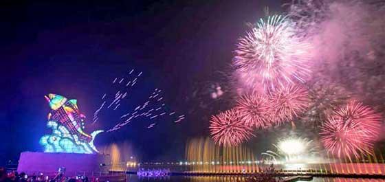Chinesisches Neujahr und Frühjahrsfest – eine Reise durch die Feuerwerks- und Laternenfestkultur Taiwans