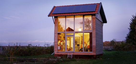 drehbares Tiny House Foto Marc Dietenmeyer
