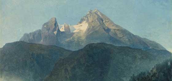 Heinrich Reinhold – Der Landschaft auf der Spur - Watzmann