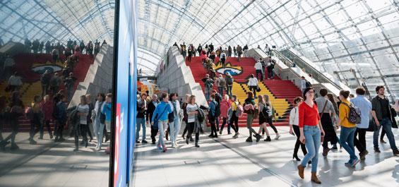 Leipziger Buchmesse – Impressionen
