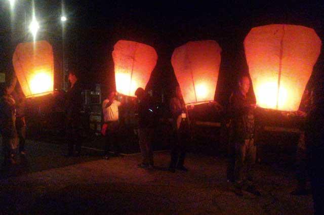 Pingxi Sky Lanterns Foto: Simona Orlando, Rom