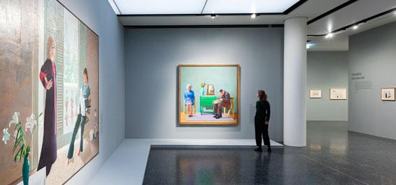 David Hockney – die Tate zu Gast Foto Ulrich Perrey
