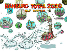 Hamburg Total 2 – Comic-Kalender von Ulf Harten Titel