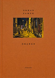 Orhan Pamuk Orange COVER