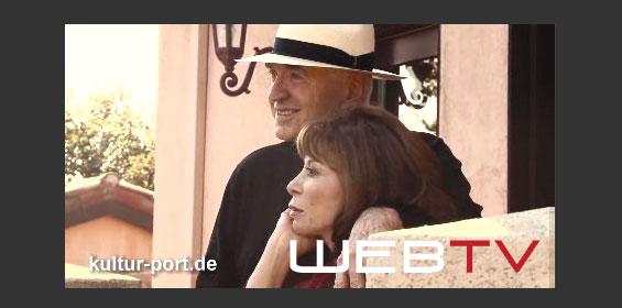 Exklusiv Interview mit der Bestsellerautorin Isabel Allende und ihrem Mann, dem Autor William C. Gordon